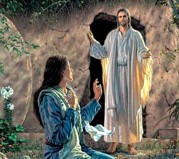 """Si Jesús le prometió al ladrón en la cruz, """"hoy""""  estarás conmigo en el paraíso, ¿cómo es que después de su resurrección le dijo a María Magdalena: No me toques que aún no he subido al Padre?"""