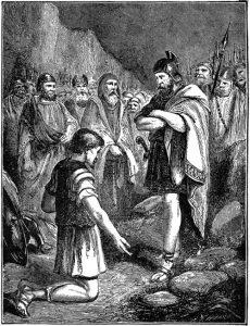 El pecado de Acan (Ilustración)