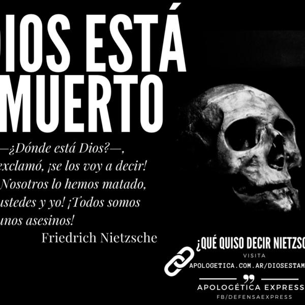 Dios está muerto: ¿A qué llama Nietzsche el Super Hombre?