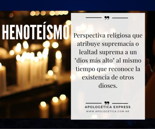 Henoteísmo