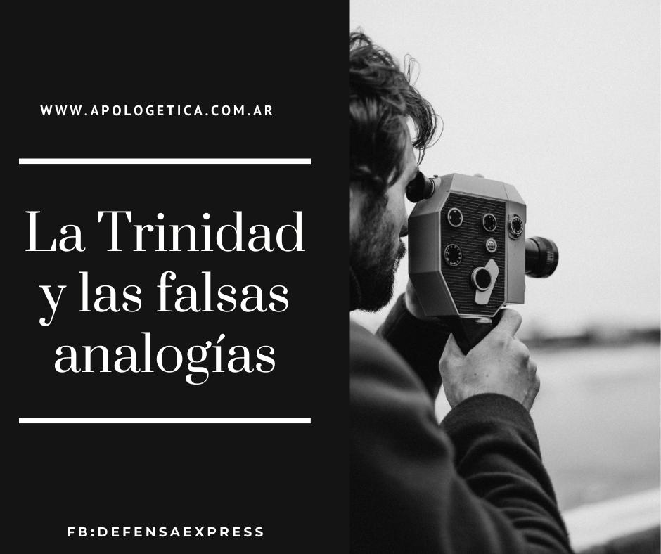 Trinidad y falsas analogías