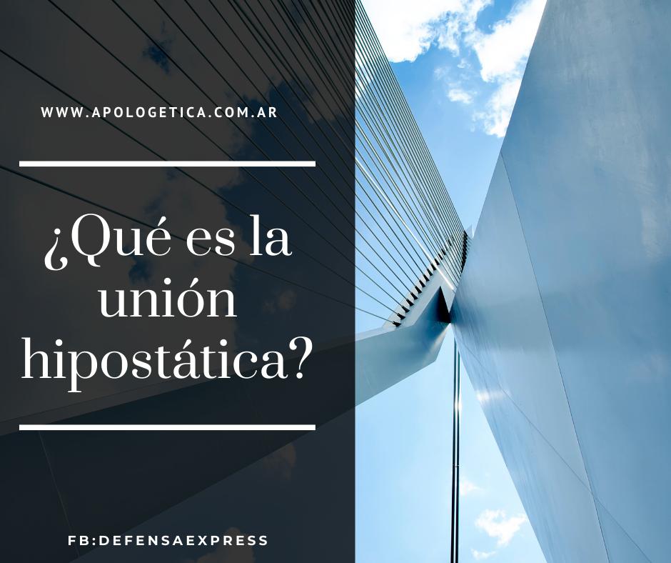 union hipostatica