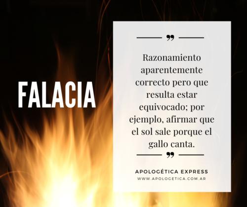 Falacia